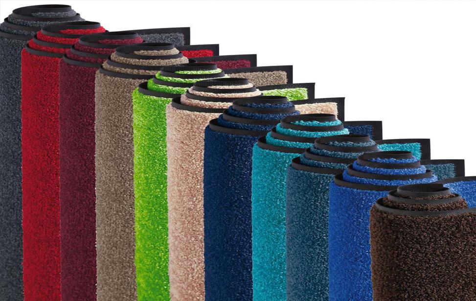 Wir bedrucken Teppiche, Logomatten & Schmutzfangmatten